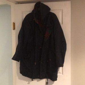 Men's JLC med Insulated navy coat